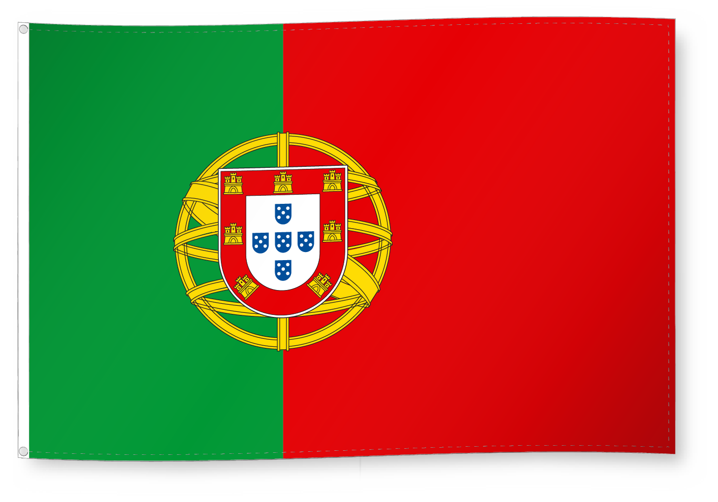 Oriflamme Drapeau Armoiries Drapeau Pour Decoration Portugal